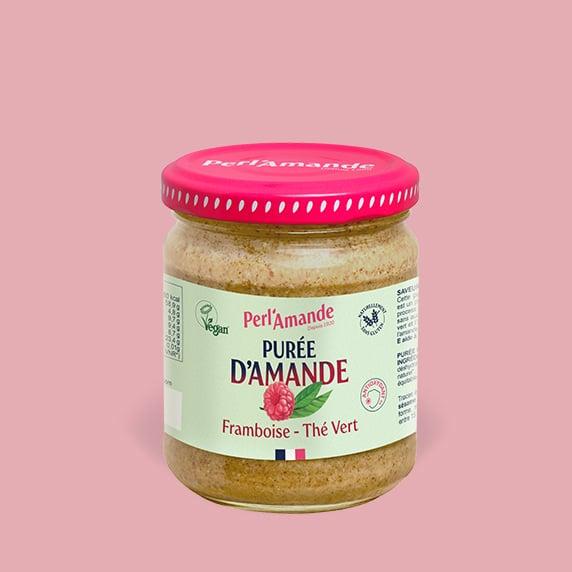 Almond & fruit butter - Raspberry, Green tea