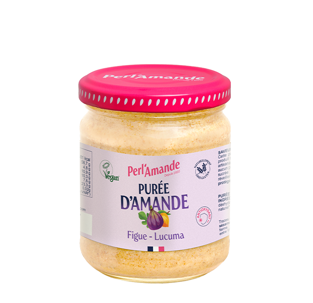 Purée d'amande & fruits - Figue, Lucuma