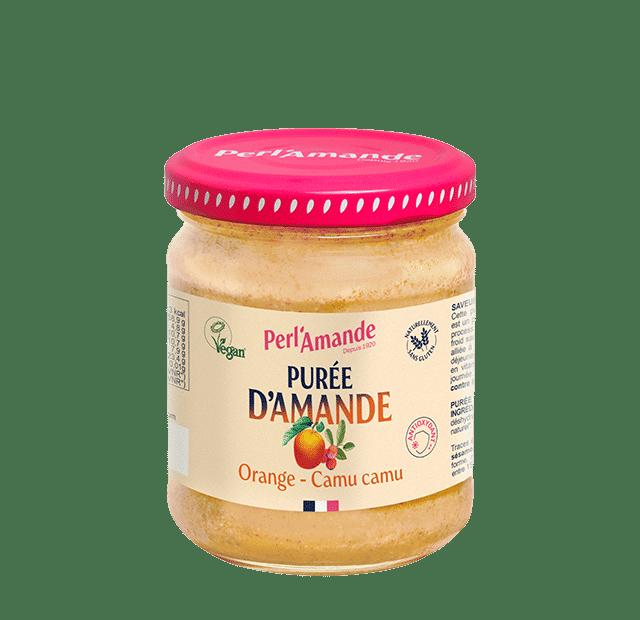 Almond & fruit butter - Orange, Camu camu