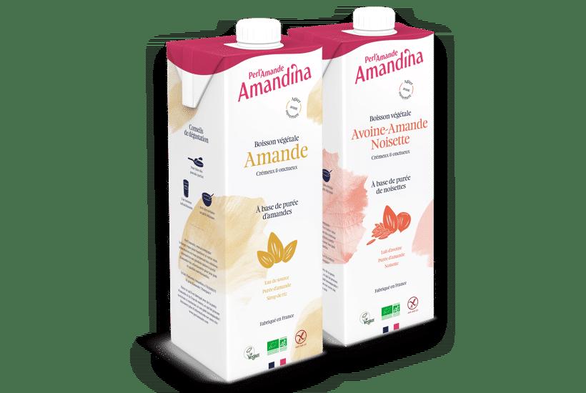 Boissons végétales Amandina