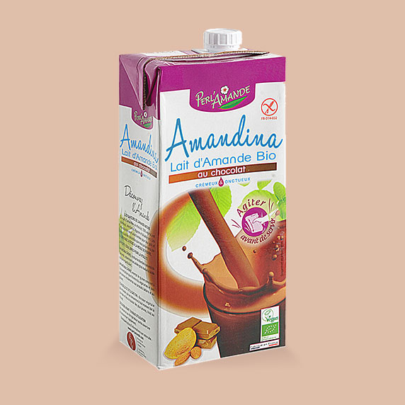 Amandina Lait d'Amande au Chocolat