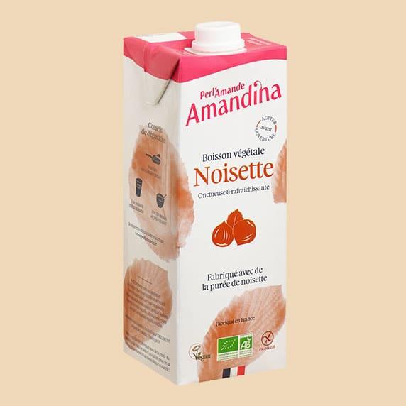 Amandina Boisson aux Noisettes