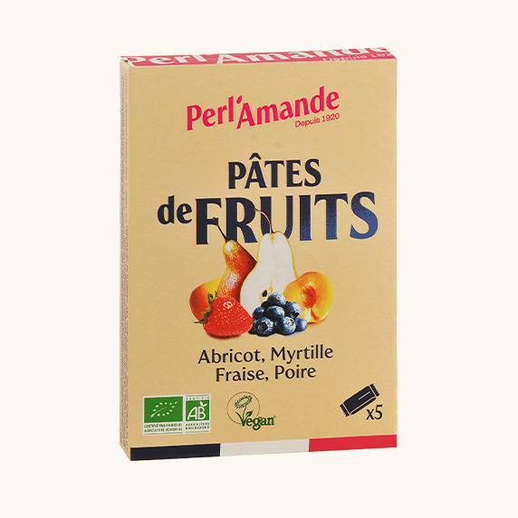 Pâte de Fruits Etui de 5 barres