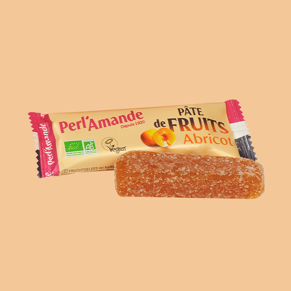 Barre Pâte de Fruits Abricot