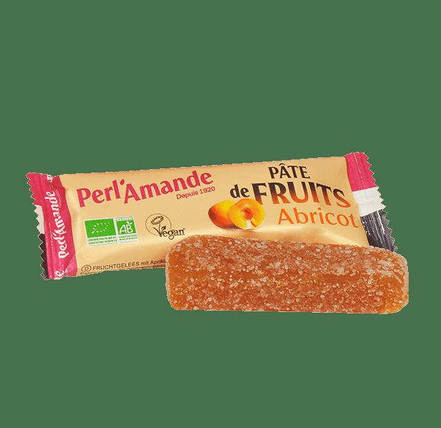 Barre Pâte de Fruits Abricot
