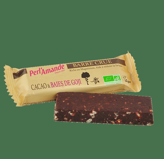 Barre Crue Cacao & Baies de goji