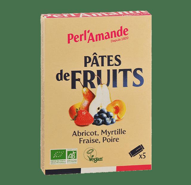 Pâte de Fruits Etui de 5 barres