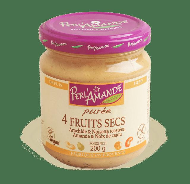 Purée 4 Fruits Secs