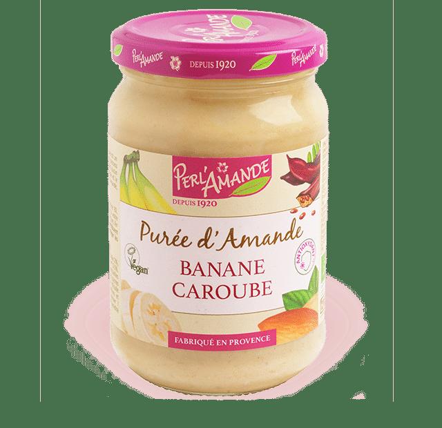 Purée d'amande & fruits - Banane, Caroube