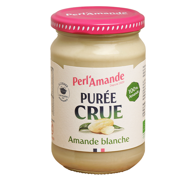 White Almond Raw Butter