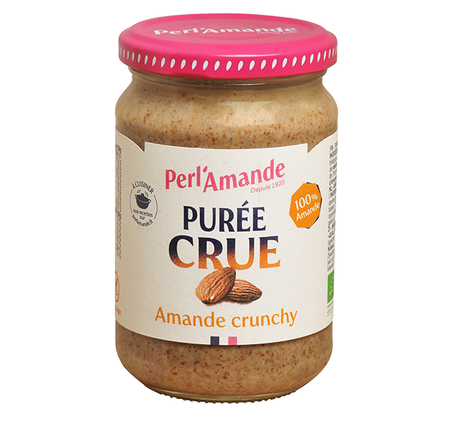 Crunchy Whole Almond Raw Butter