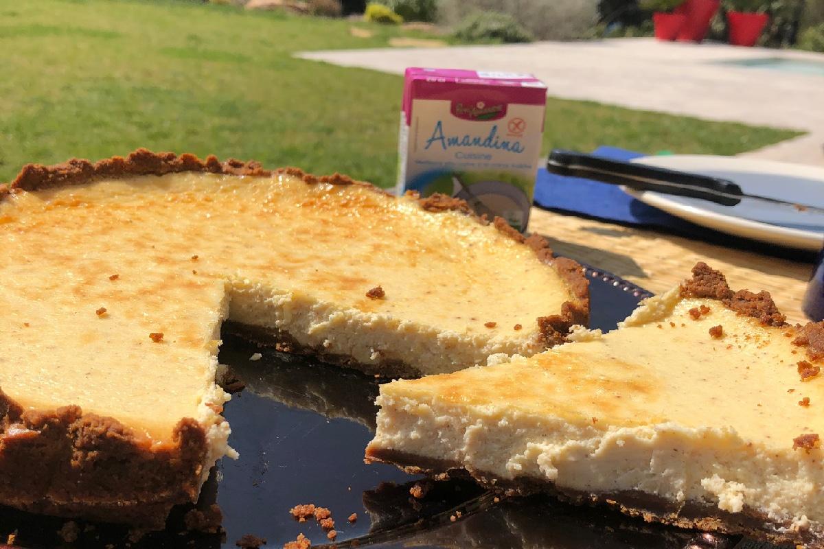 Cheesecake à l'Amandina Cuisine
