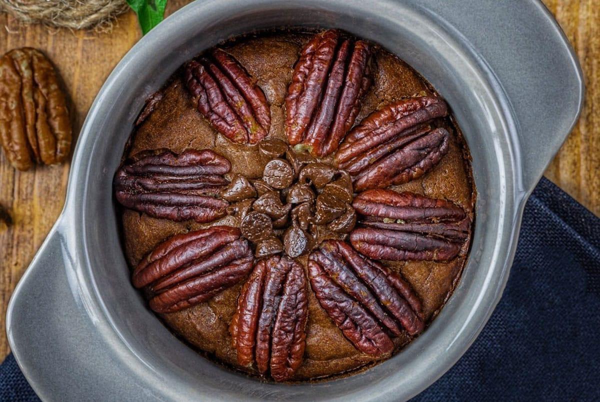 Brownie à la purée noisette toastée by Beautyfood Cooking