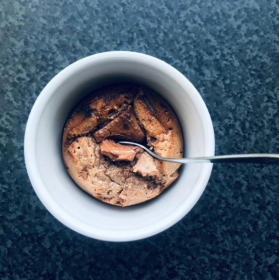 Fondant à la purée 4 fruits secs by @Alimentation Epanouie