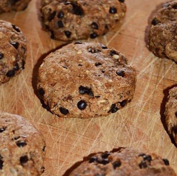 Cookies sans gluten à la cajou toastée by Axelle DP