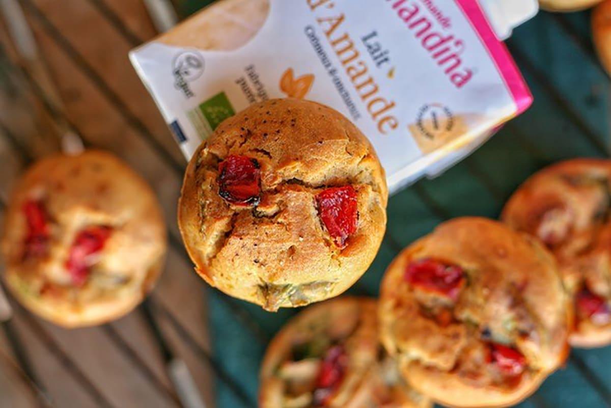 Muffins à la provençale et lait d'amande by Plante ton assiette
