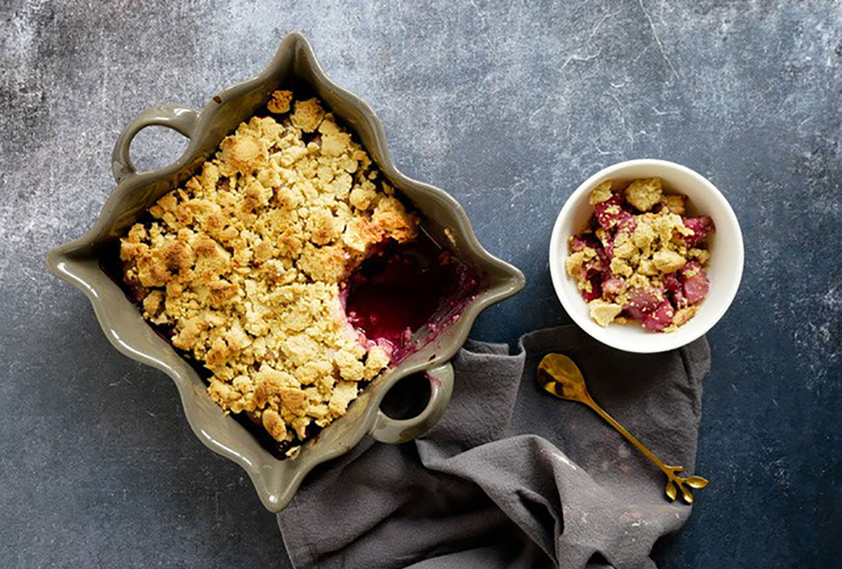 Crumble amande passion by Happy_and_veggy