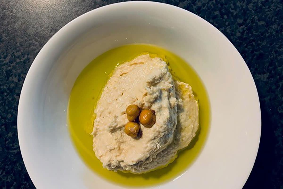 Houmous à la purée d'Amande blanche by Alimentation Epanouie