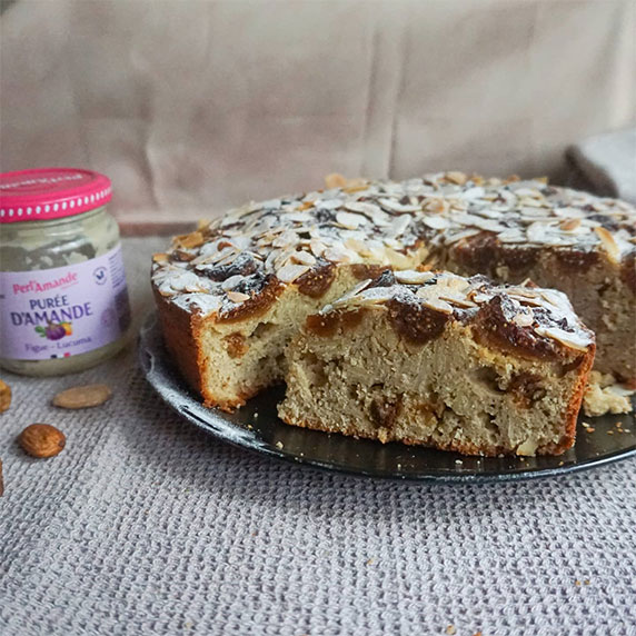Cake aux figues & lucuma by Loulou Cuisine Healthy