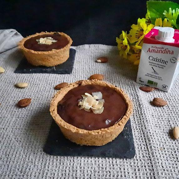 Tartelette Cédrat chocolat à l'Amandina cuisine by Loulou