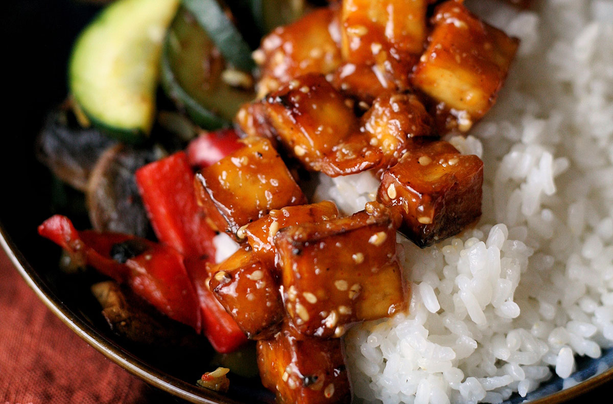 Tofu à la cacahuète by Plante Ton Assiette