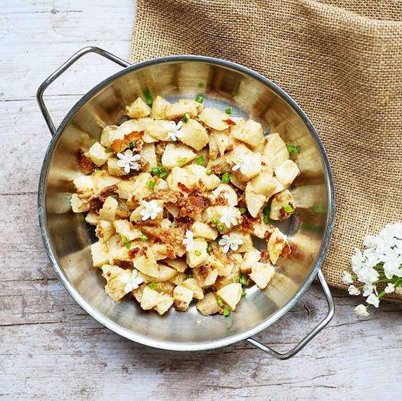 Navets à la purée cacahuète toastée by Happy and veggy